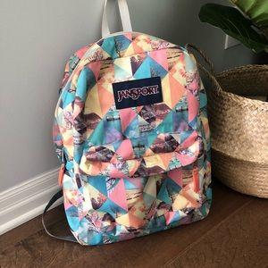 JANSPORT Spring Backpack 🌺🦋